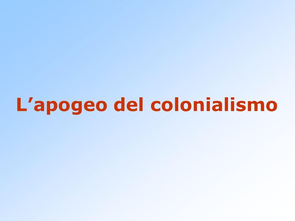 Lapogeo del colonialismo