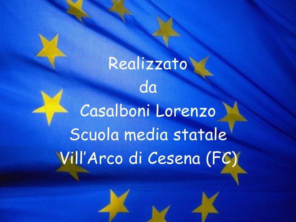 Realizzato da Casalboni Lorenzo Scuola media statale VillArco di Cesena (FC)