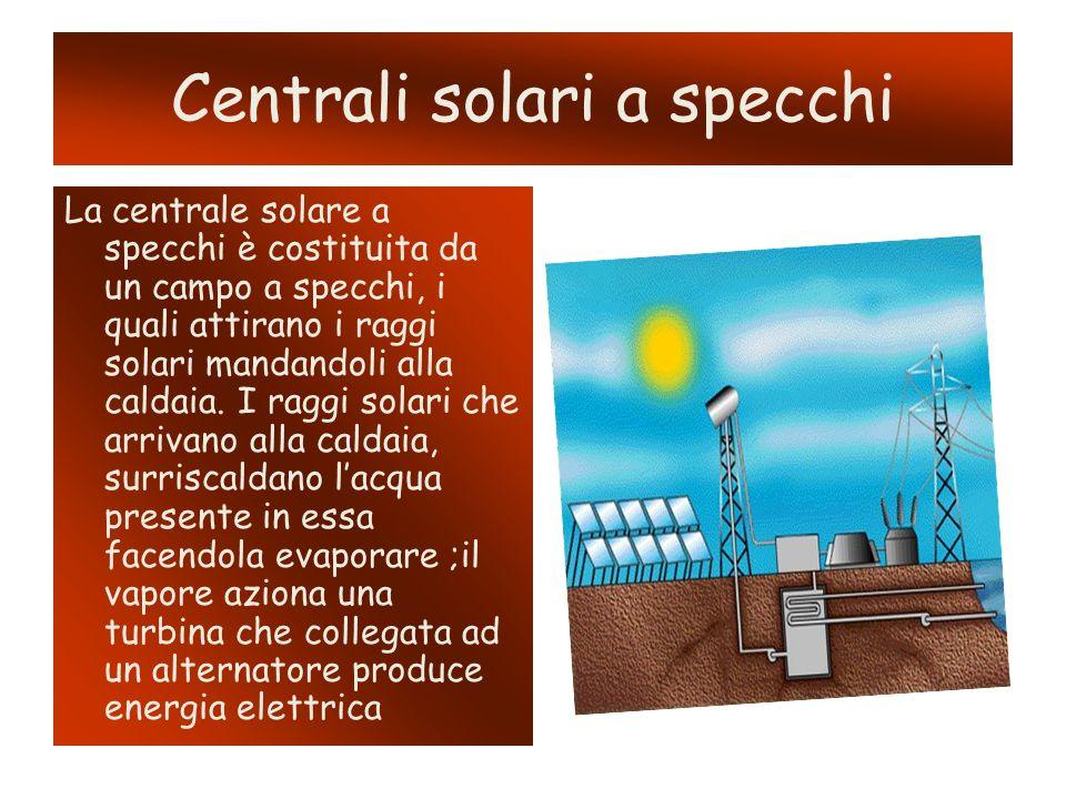 Pannelli fotovoltaici Un modulo fotovoltaico è un dispositivo optoelettrico, composto da celle fotovoltaiche, in grado di convertire l energia solare