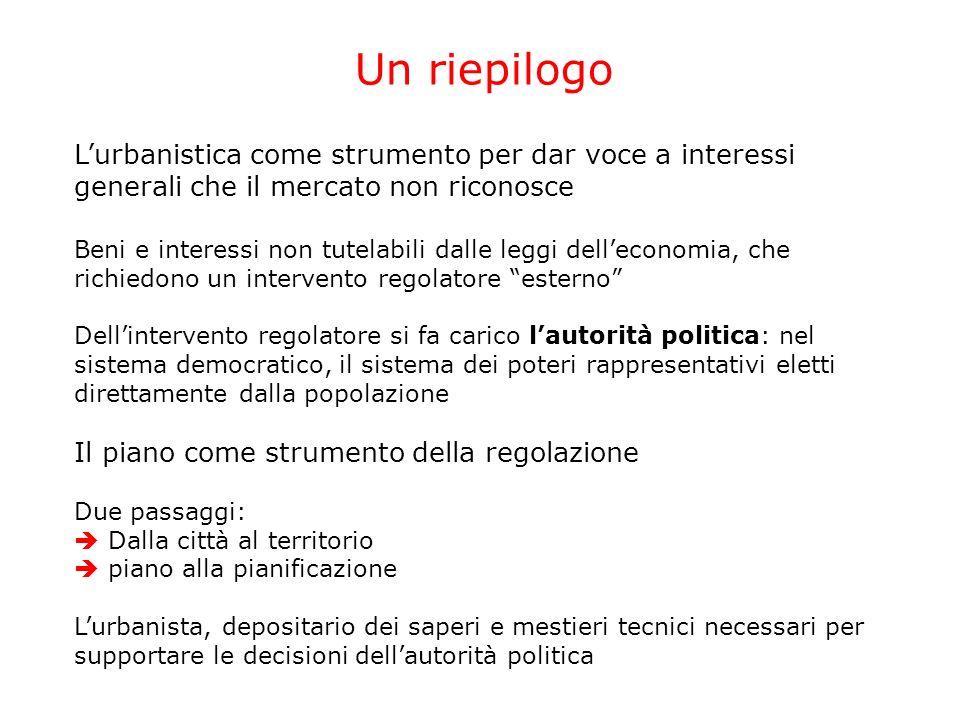 Il politico e lurbanista Due figure in stretta simbiosi.