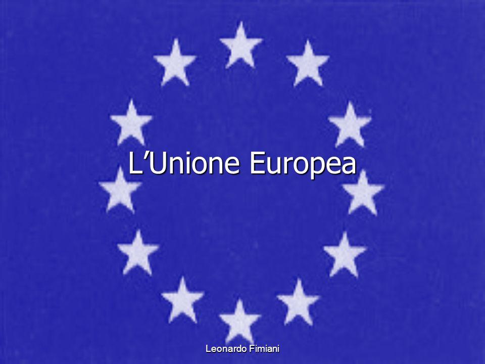 Leonardo Fimiani LUnione Europea