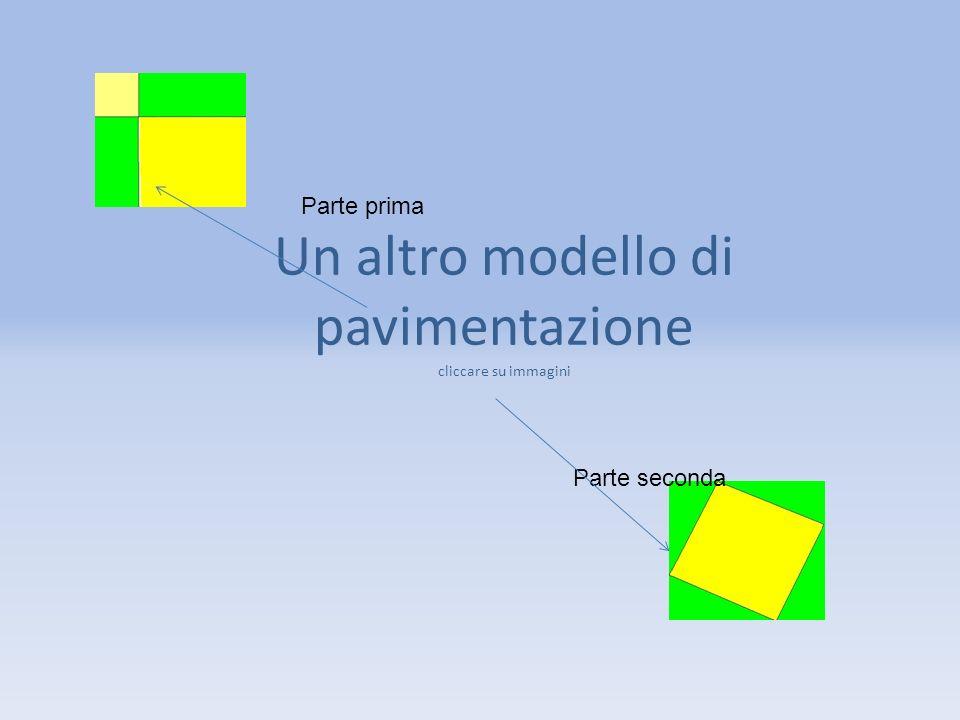 Un altro modello di pavimentazione cliccare su immagini Parte prima Parte seconda