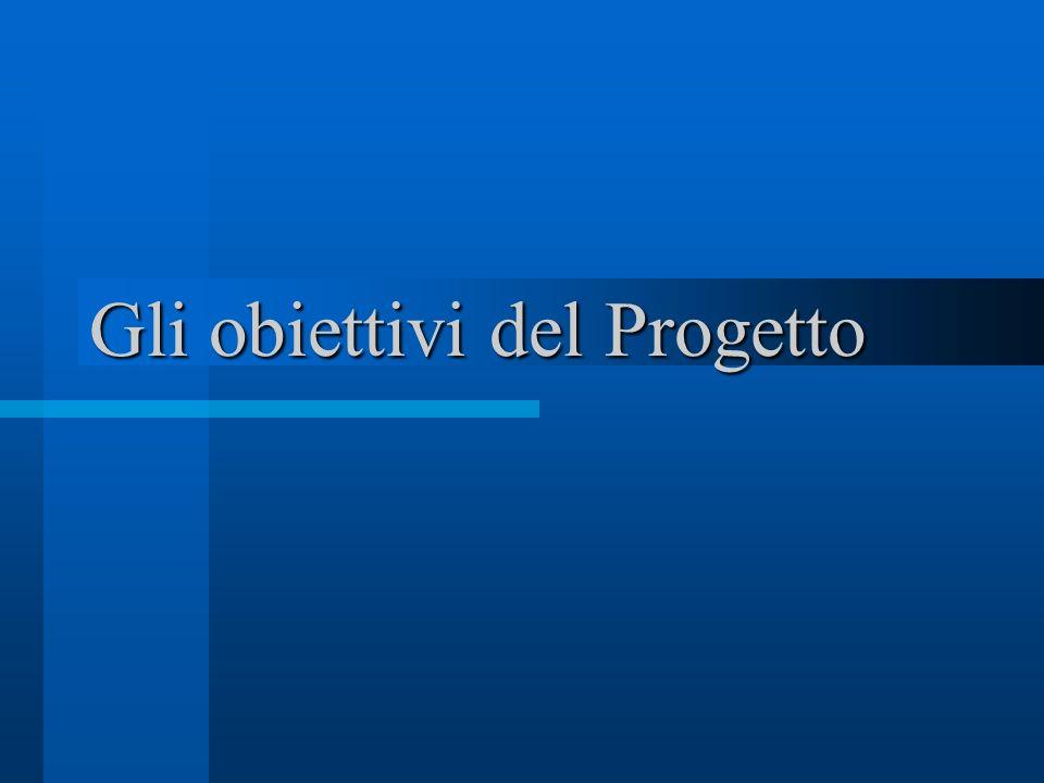 Gli obiettivi del Progetto