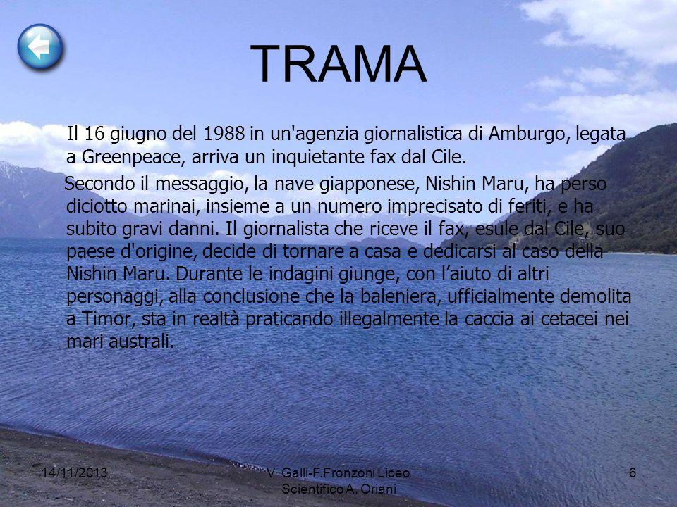 14/11/2013V. Galli-F.Fronzoni Liceo Scientifico A. Oriani 7
