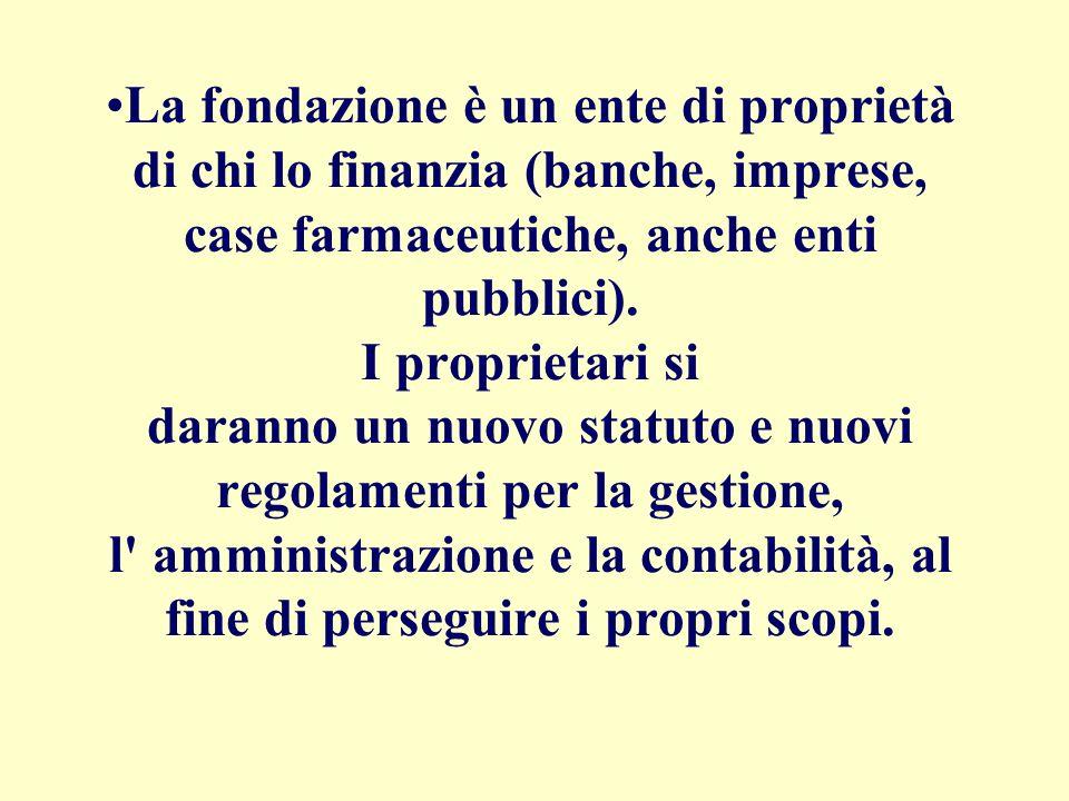 Legge 133,Art. 16. (…) Le Università pubbliche possono deliberare la propria trasformazione in fondazioni di diritto privato (…) N.B. Possono, non vuo