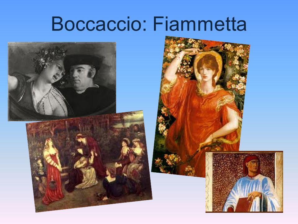 Boccaccio: Fiammetta
