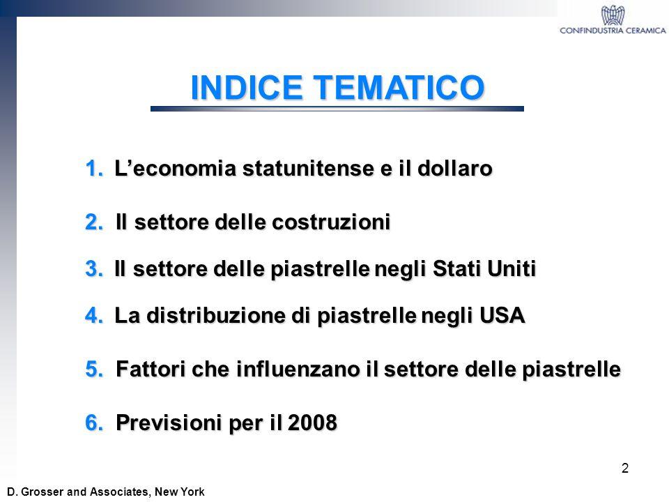 33 Dal Tile è il piu grande importatore statunitense con circa il 7% delle importazioni totali 4.