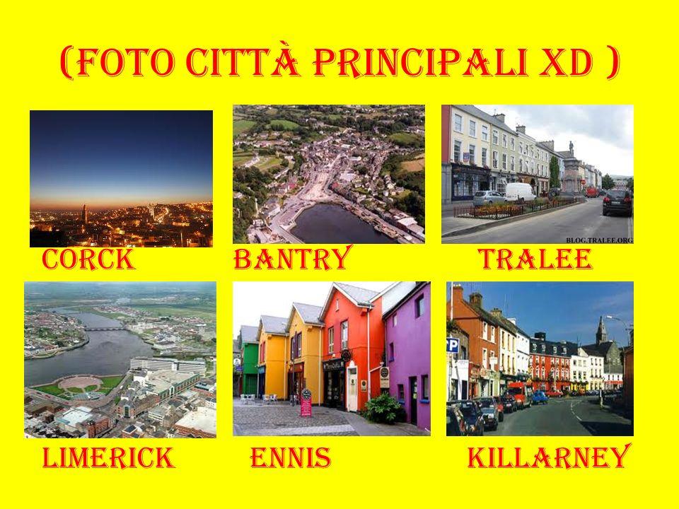 (foto città principali xD ) Corck bantry tralee Limerick ennis killarney