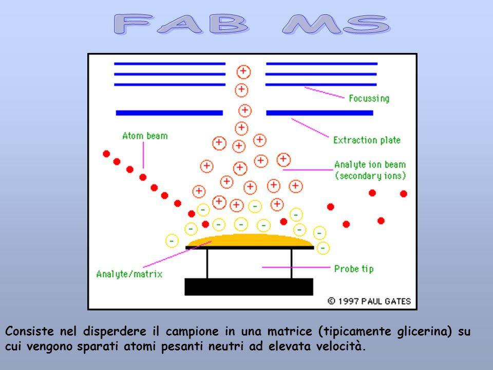 Consiste nel disperdere il campione in una matrice (tipicamente glicerina) su cui vengono sparati atomi pesanti neutri ad elevata velocità.