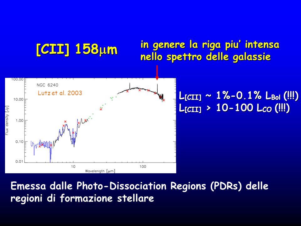 [CII] 158 m Lutz et al.