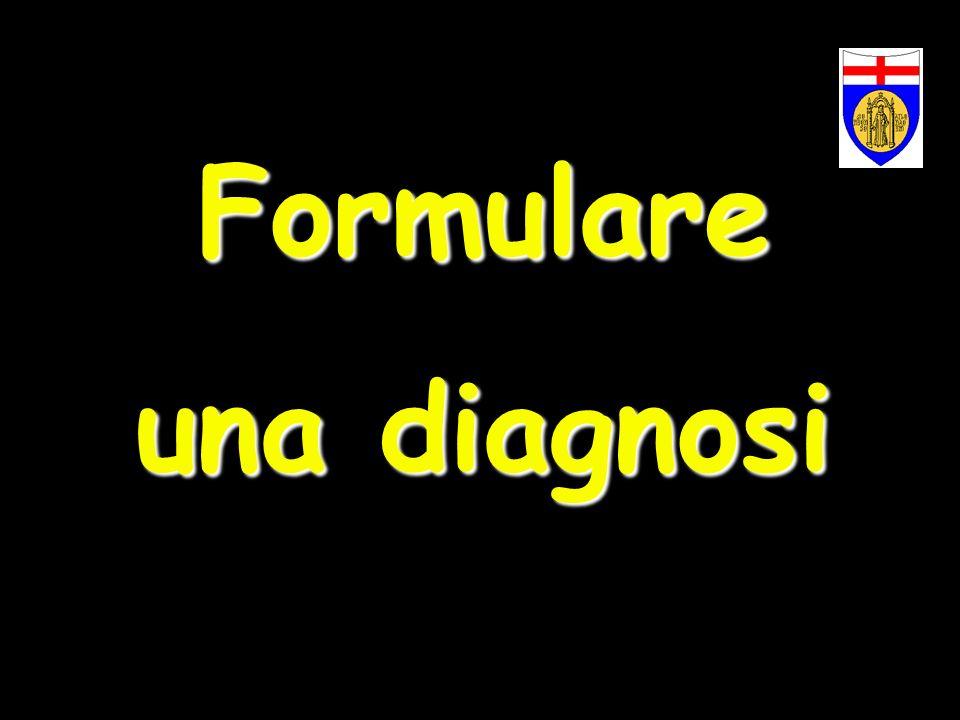 Formulare una diagnosi