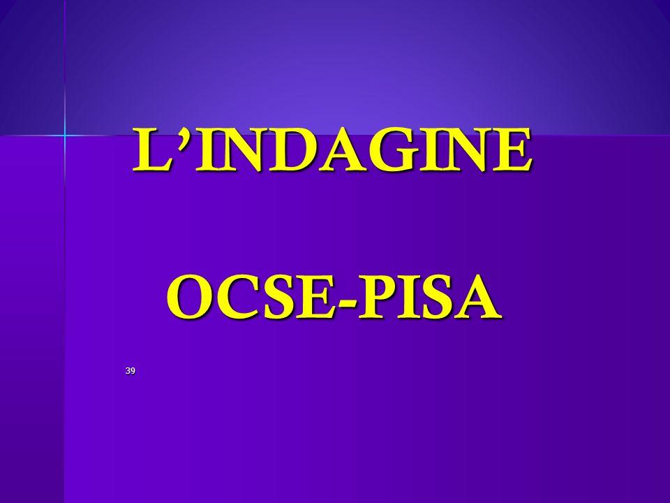 LINDAGINE OCSE-PISA 39