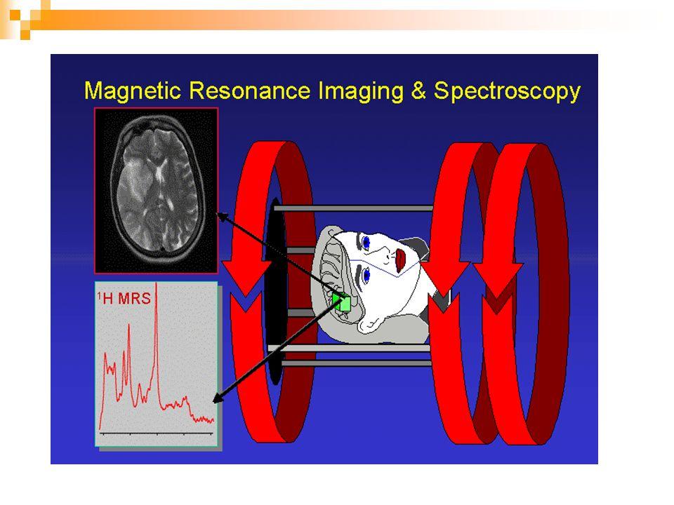 Imaging tomografico con retroproiezione Fu una delle prime tecniche di MRI E una estensione della procedura di codifica in frequenza: viene applicato un gradiente di campo monodimensionale a varie angolazioni e per ciascuno di questi viene registrato lo spettro NMR.