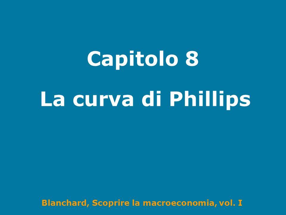 Blanchard, Scoprire la macroeconomia, vol. I Capitolo 8 La curva di Phillips