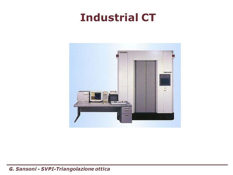 G. Sansoni - SVPI-Triangolazione ottica Industrial CT