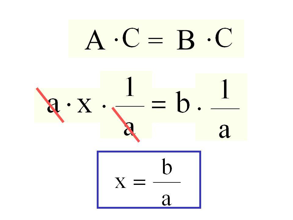 A = B Prodotto ai due membri