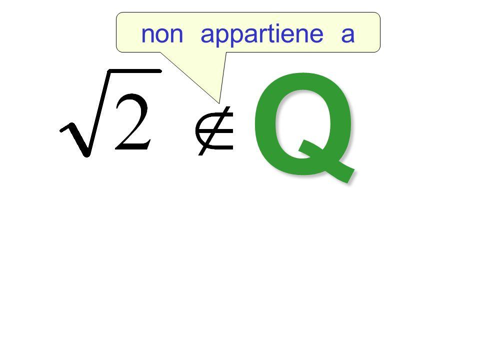 Q non appartiene a