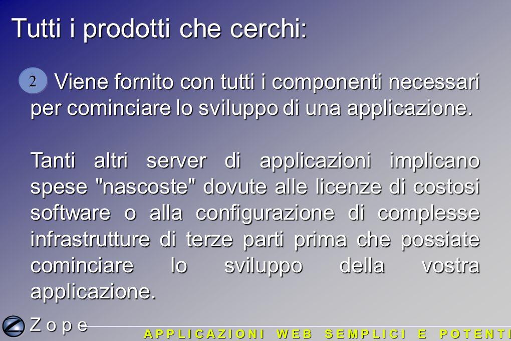 Tutti i prodotti che cerchi: Viene fornito con tutti i componenti necessari per cominciare lo sviluppo di una applicazione.
