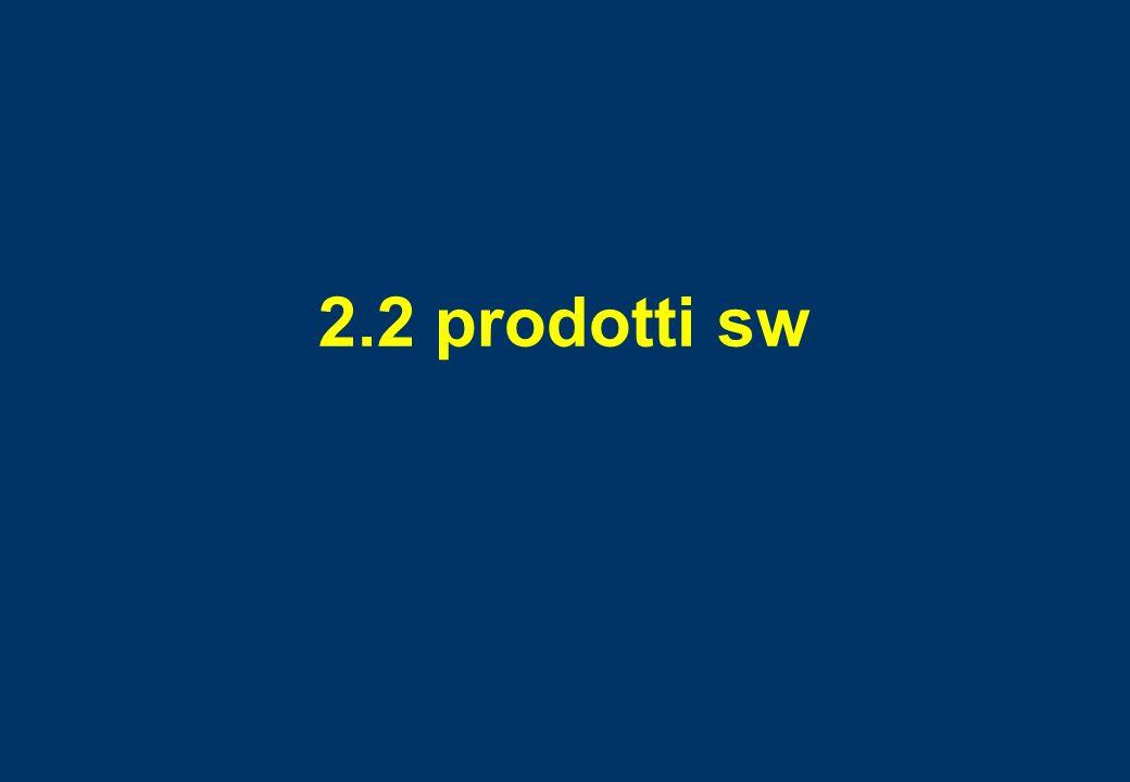 2.2 prodotti sw