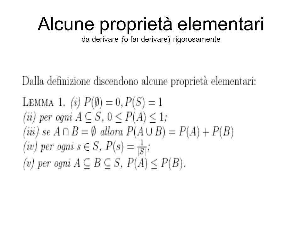 Foglio di calcolo Usando le funzioni di un foglio elettronico di calcolo si possono calcolare alcune probabilità.