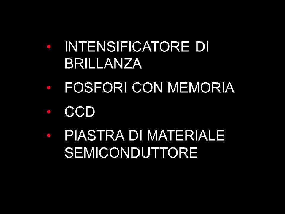 INTENSIFICATORE DI BRILLANZA FOSFORI CON MEMORIA CCD PIASTRA DI MATERIALE SEMICONDUTTORE