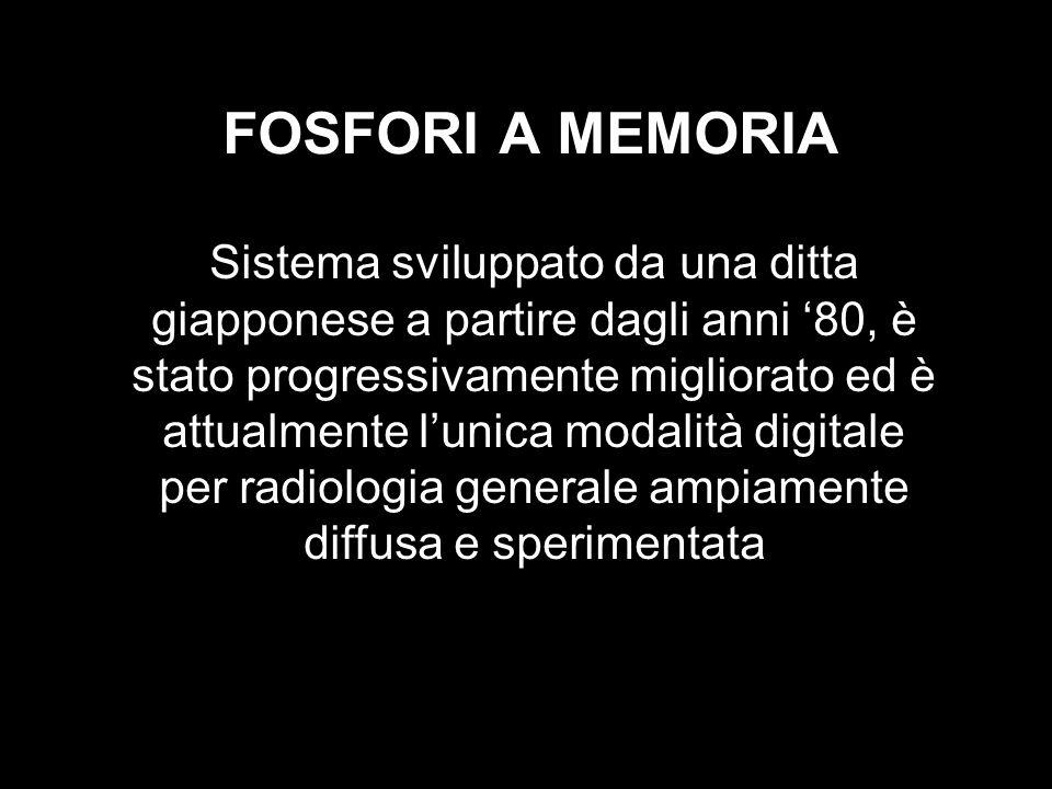 FOSFORI A MEMORIA Sistema sviluppato da una ditta giapponese a partire dagli anni 80, è stato progressivamente migliorato ed è attualmente lunica moda