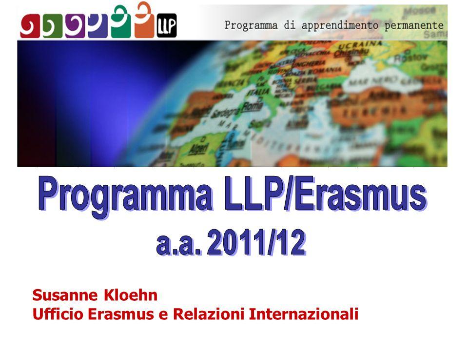 Susanne Kloehn Ufficio Erasmus e Relazioni Internazionali