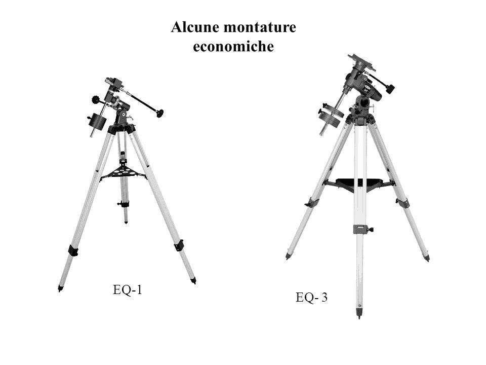 Alcune montature economiche EQ-1 EQ- 3
