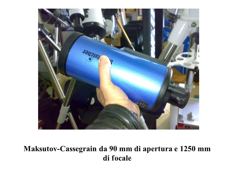 Maksutov-Cassegrain da 90 mm di apertura e 1250 mm di focale