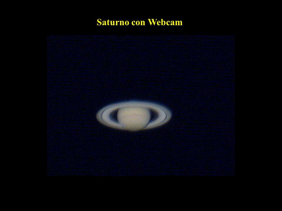 Saturno con Webcam