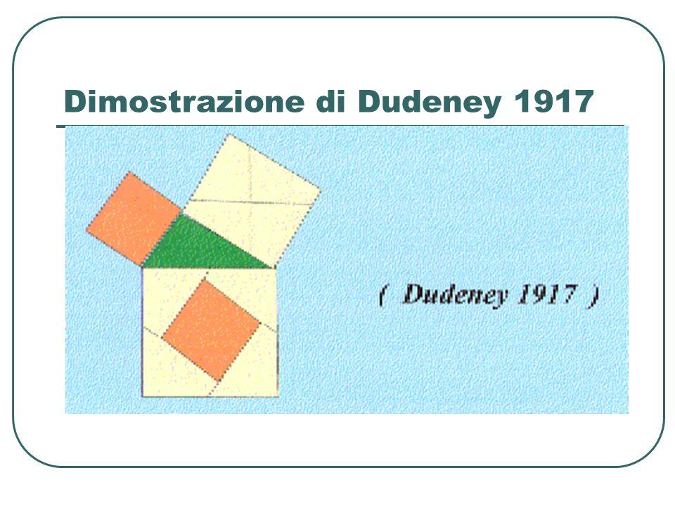 Dimostrazione di Dudeney 1917