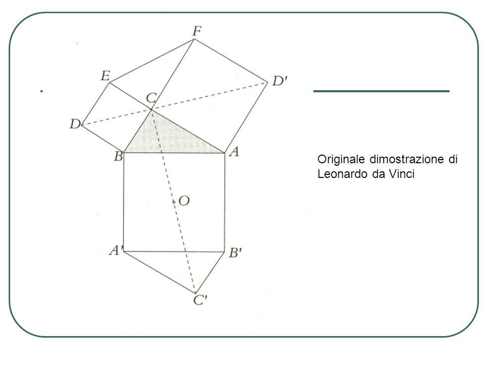 Originale dimostrazione di Leonardo da Vinci