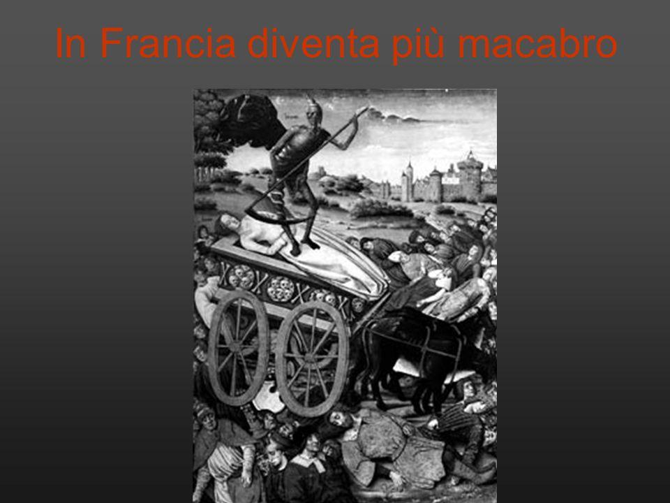 In Francia diventa più macabro