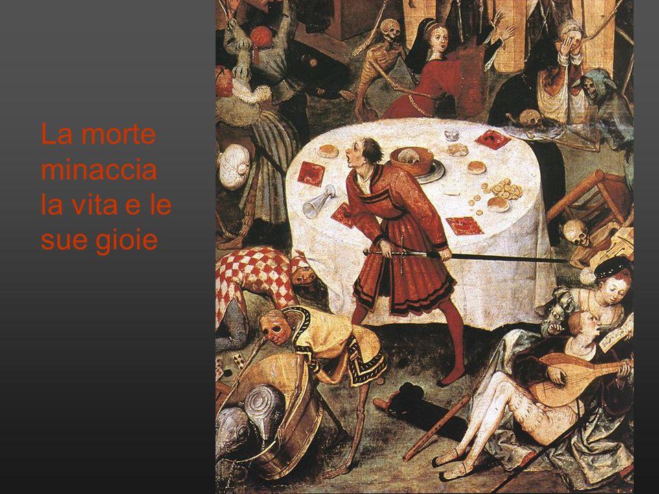 Dal XVI secolo si attenua la violenza delle rappresentazioni della morte: una fioritura di piccoli simboli macabri