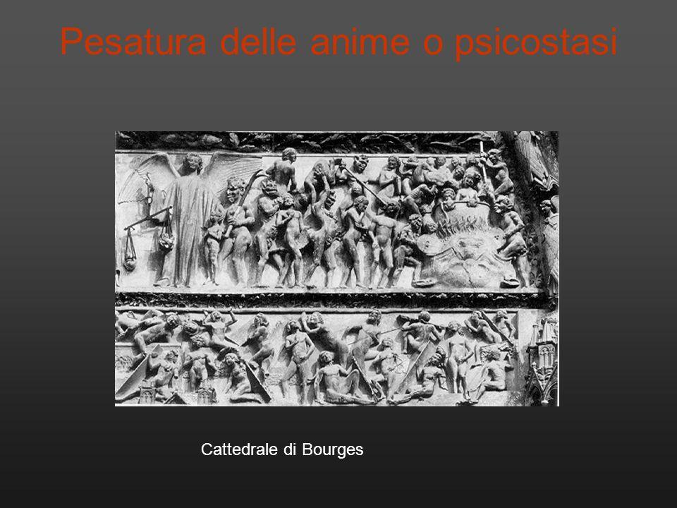 Cattedrale di Bourges Pesatura delle anime o psicostasi