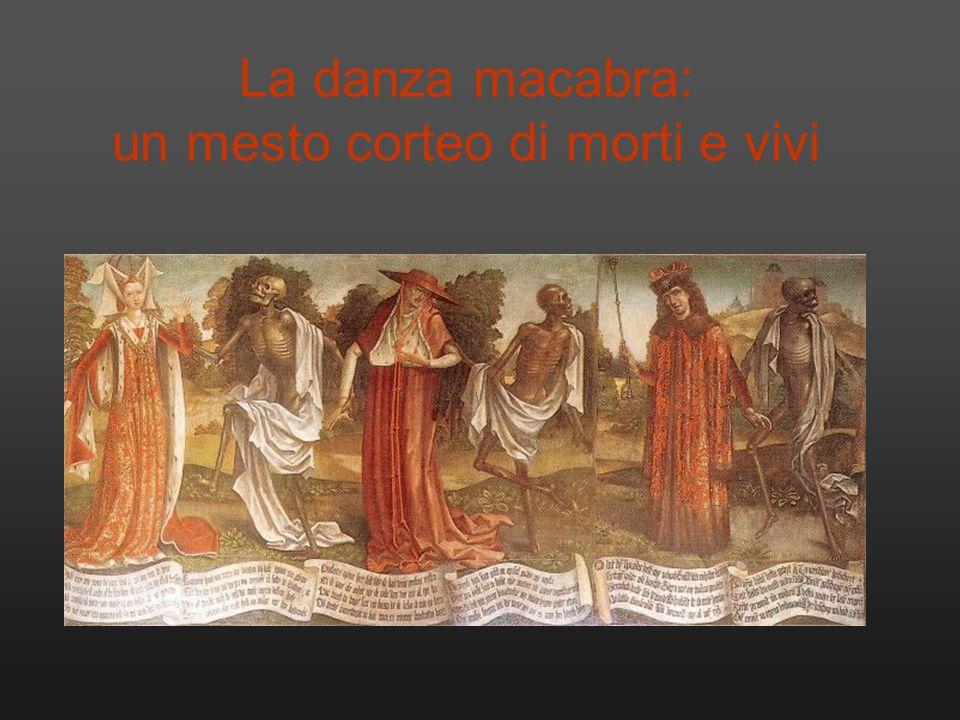 La danza macabra: un mesto corteo di morti e vivi