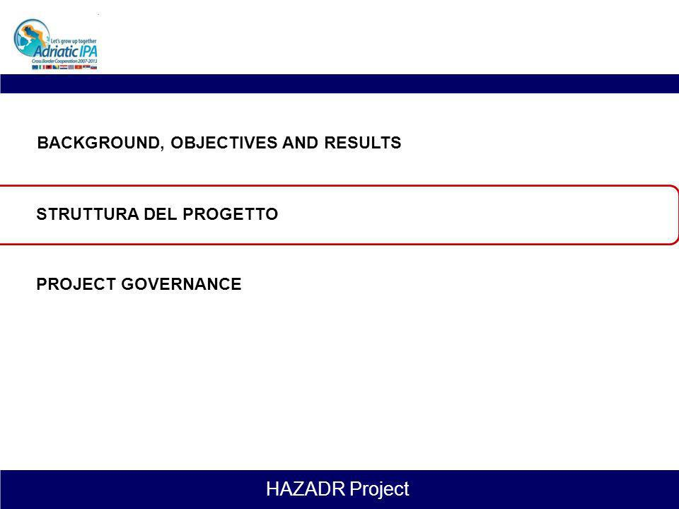 HAZADR Project The Research and Training Center La prosecuzione delle attività relative al miglioramento e perfezionamento della capacità di risposta