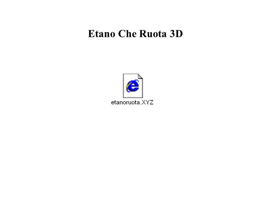 Etano Che Ruota 3D
