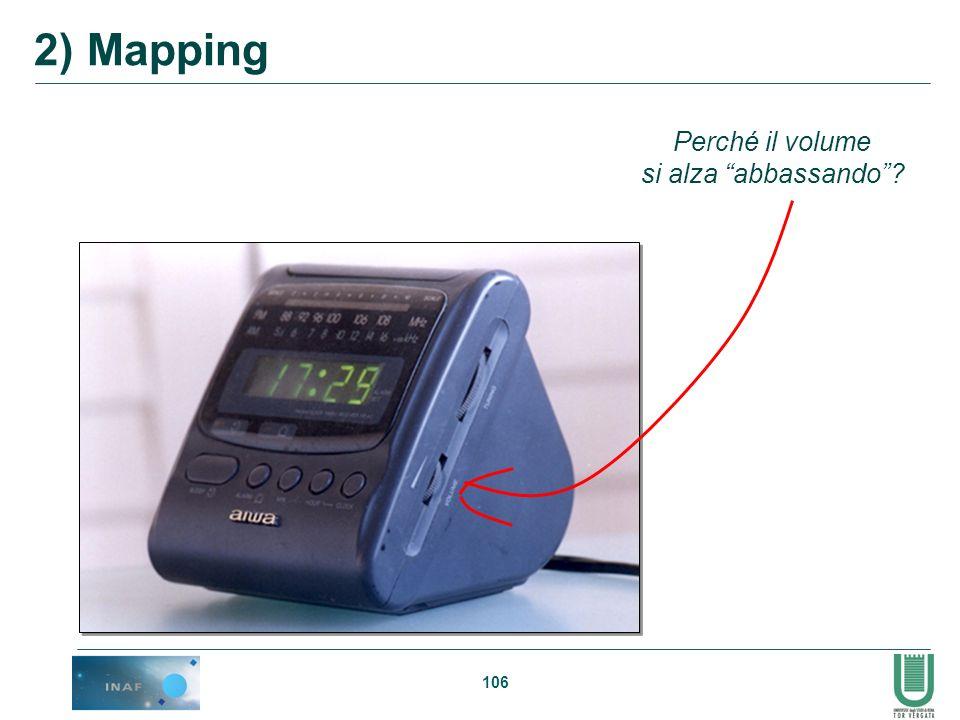 106 Perché il volume si alza abbassando? 2) Mapping