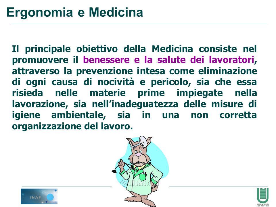 93 Il principale obiettivo della Medicina consiste nel promuovere il benessere e la salute dei lavoratori, attraverso la prevenzione intesa come elimi