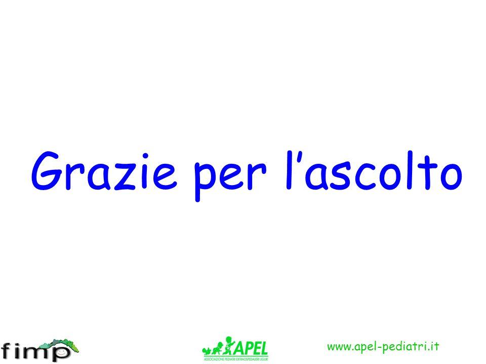 www.apel-pediatri.it Grazie per lascolto