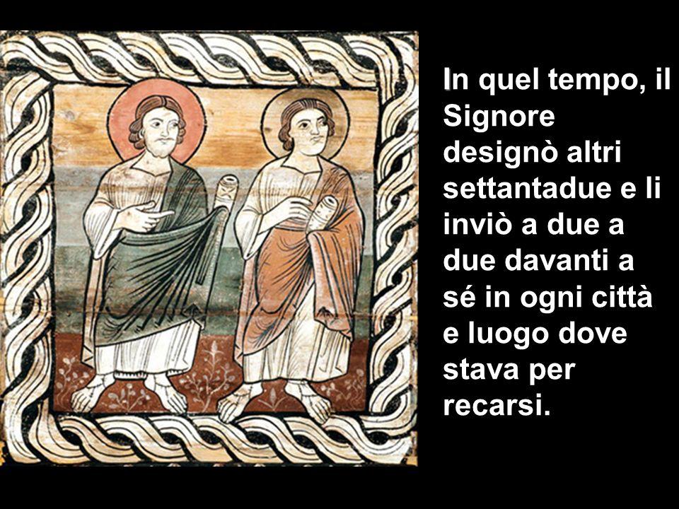 XIV DOMENICA DEL TEMPO ORDINARIO ANNO C Lc 10,1-12.17- 20