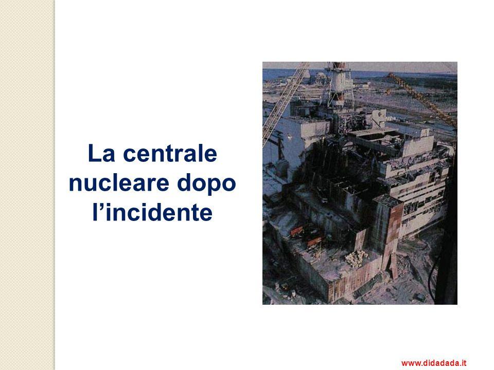 La centrale nucleare dopo lincidente www.didadada.it