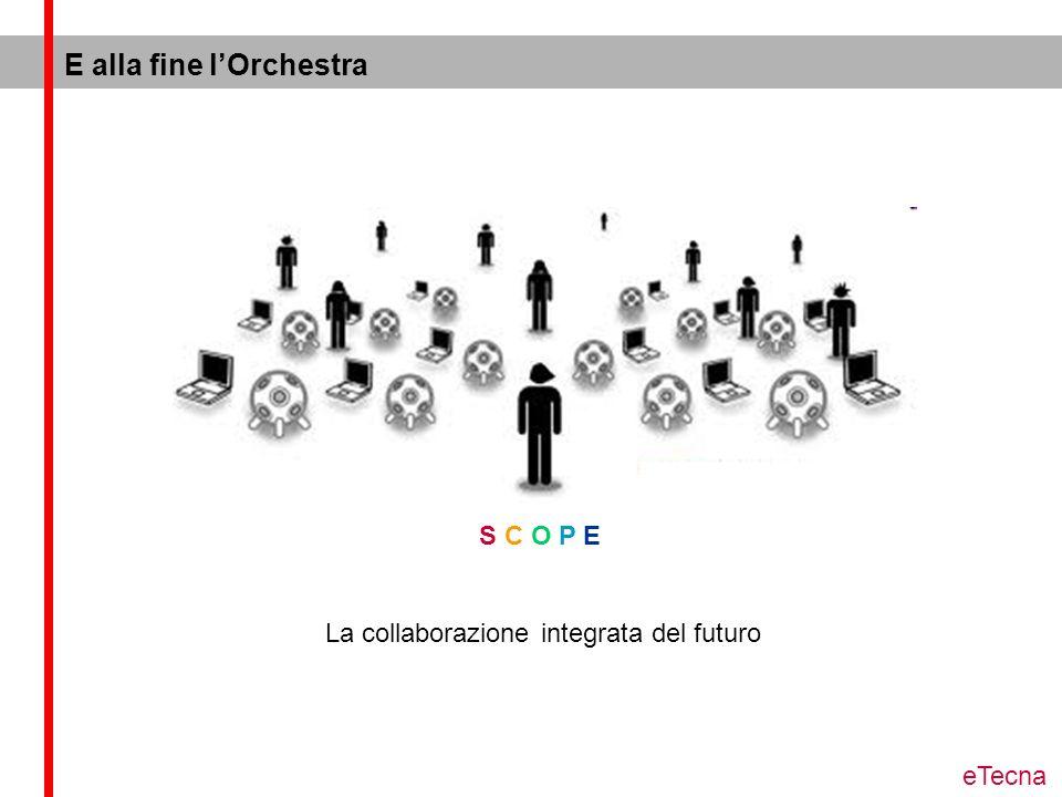 E alla fine lOrchestra S C O P E La collaborazione integrata del futuro eTecna