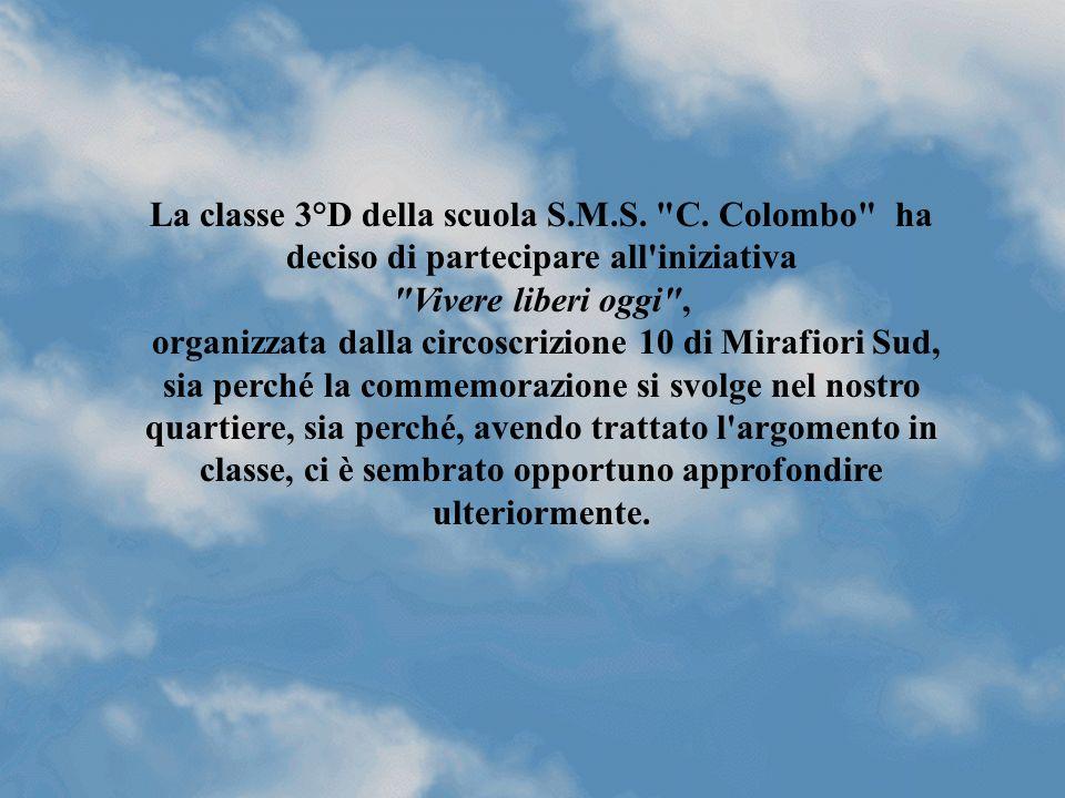 La classe 3° D presenta Indagine statistica Disegni e commenti Per non dimenticare ……...