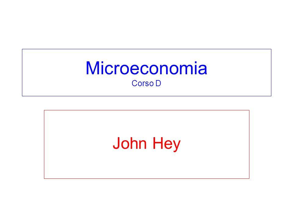 Microeconomia Corso D John Hey