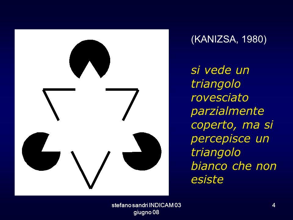 stefano sandri INDICAM 03 giugno 08 4 si vede un triangolo rovesciato parzialmente coperto, ma si percepisce un triangolo bianco che non esiste (KANIZ