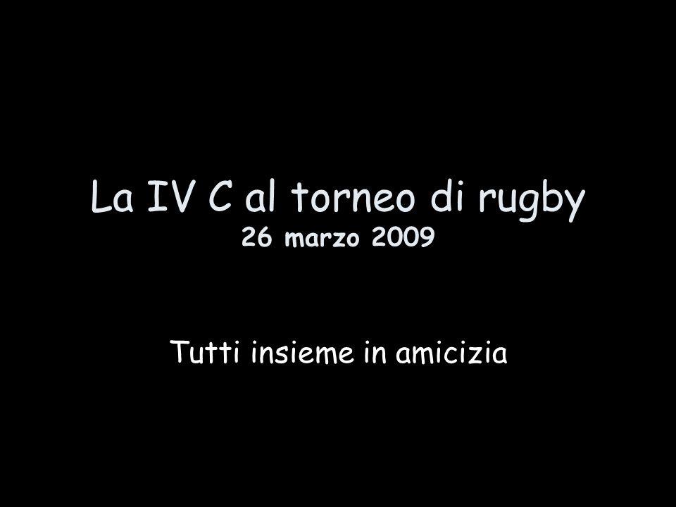 Tutte le classi quarte si sono recate il 26 marzo 2009 al campo Giuriati per il PARTITONE FINALE di rugby a conclusione del progetto di educazione motoria previsto per le classi quarte dalla nostra scuola.