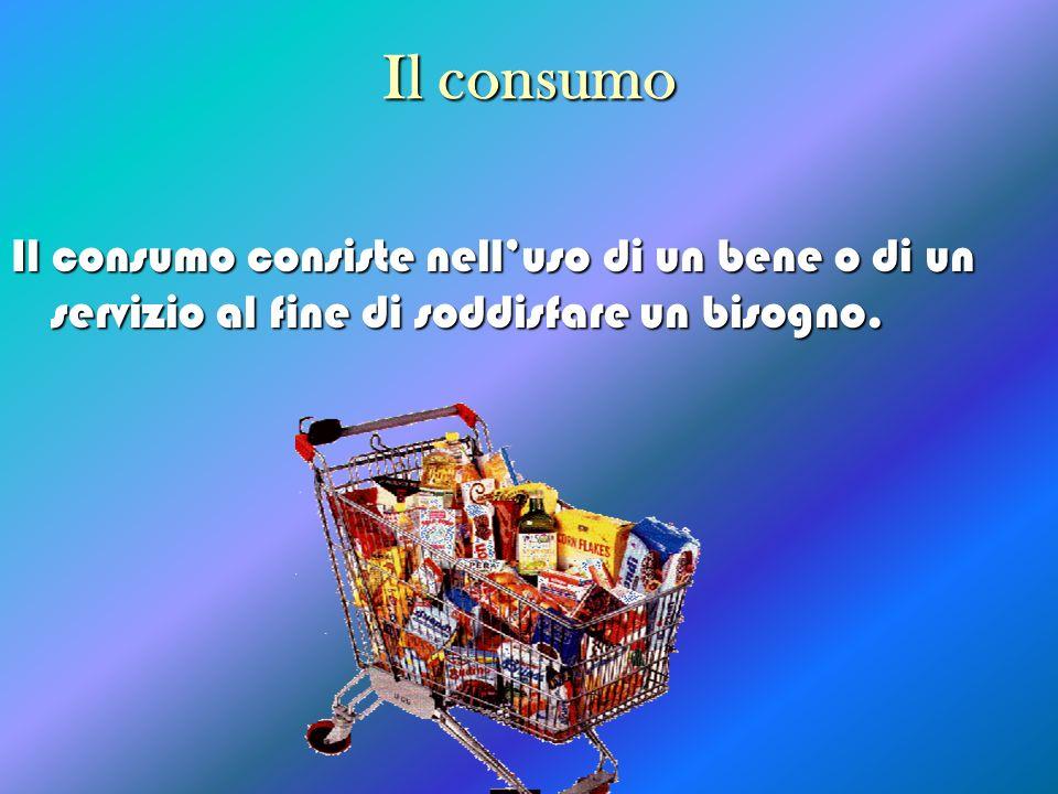 I fattori che influiscono sul consumo Esiste un rapporto tra il reddito e il consumo, che possiamo esprimere con una funzione.