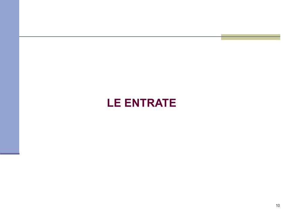 10 LE ENTRATE